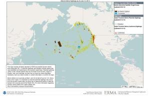 tsunami debris map