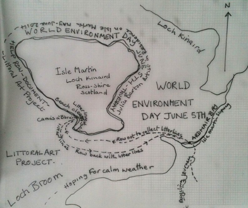 World Environment Isle Martin  map
