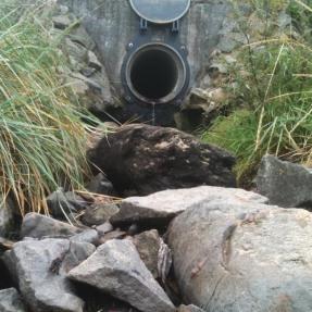 cramond storrm drain 2