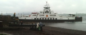 ferry toCumbrae