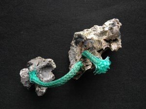 part melted object cord