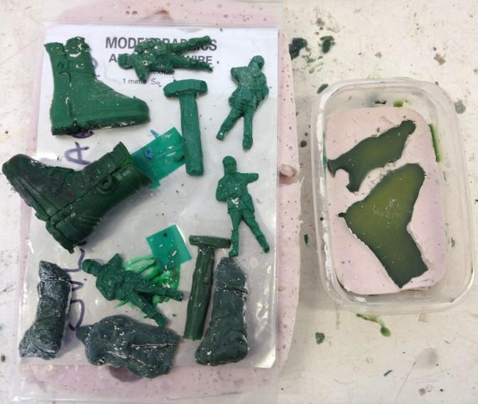 ESW wax commando parts