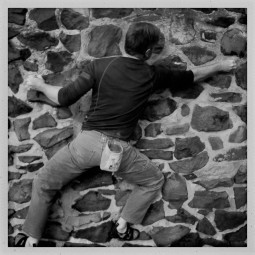 Ref shot J Pinkard climbing