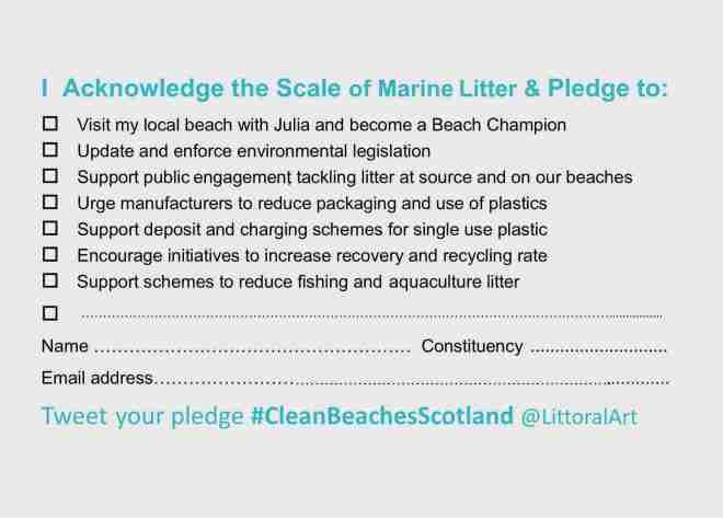 PLEDGE CARD #CleanBeachesScotland
