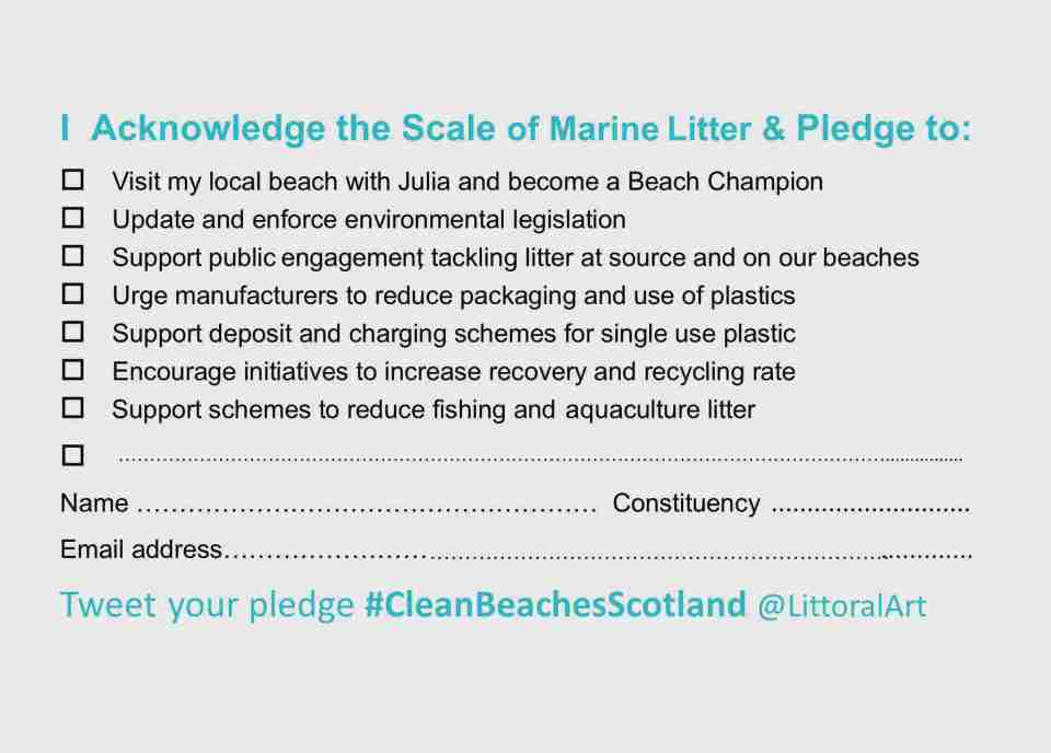 PLEDGE CARD #CleanBeachesScotland